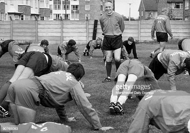 Bill Shankly with his team Liverpool Emlyn Hughes can be seen behind him Bill Shankly is considered to be one of the greatest football managers of...