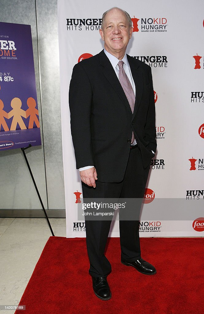 Bill Shore attends the 'Hunger Hits Home' screening at the Hearst Screening Room on March 29, 2012 in New York City.