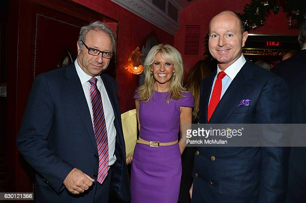 Bill Siegel Monica Crowley and Prince Dimitri of Yugoslavia attend George Farias Anne and Jay McInerney Host A Christmas Cheer Holiday Party 2016 at...