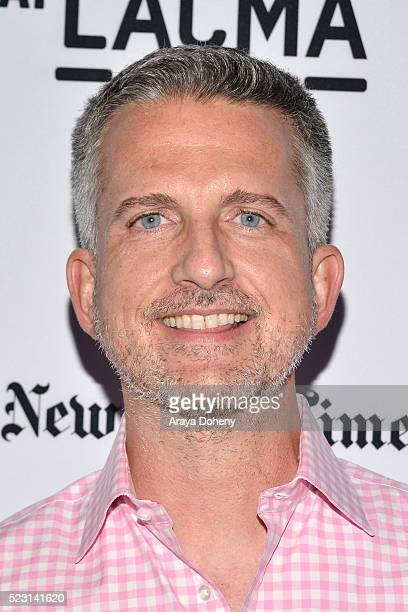 Bill Simmons attends the Film Independent at LACMA presents Live Read of 'Thnk You For Smoking' and After Party at Bing Theatre At LACMA on April 21...