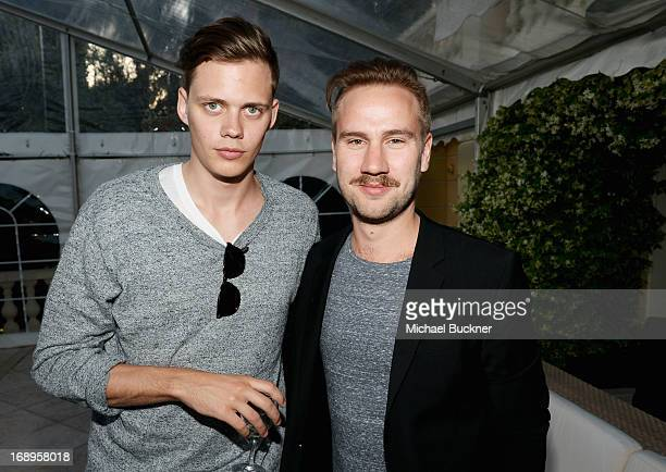 Bill Skarsgard and director Andreas Ohman attend a benefit held by Mammoth Entertainment and LyonHeartLove Foundation to protect illegally poached...
