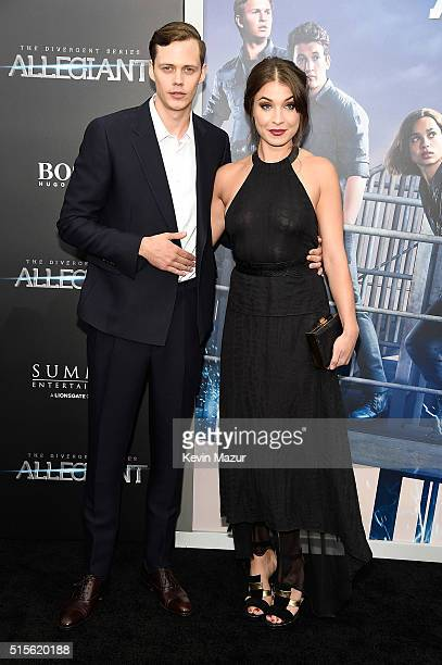 Bill Skarsgard attends 'Allegiant' New York premiere at AMC Loews Lincoln Square 13 theater on March 14 2016 in New York City