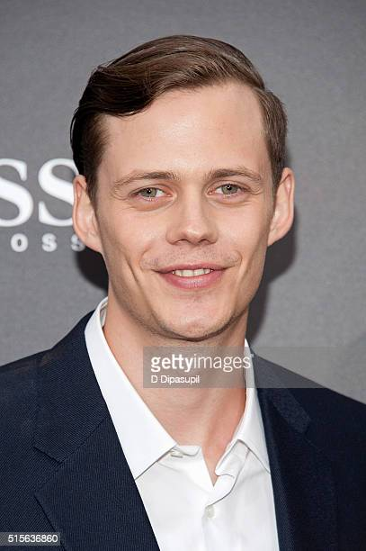 Bill Skarsgard attends the 'Allegiant' New York premiere at AMC Lincoln Square Theater on March 14 2016 in New York City