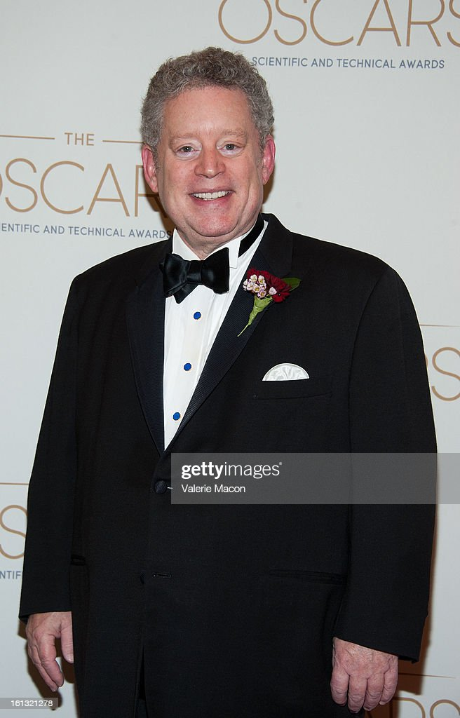Bill Taylor arrives at the Academy Of Motion Picture Arts And Sciences' Scientific & Technical Awards at Beverly Hills Hotel on February 9, 2013 in Beverly Hills, California.