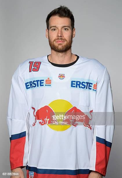 Bill Thomas of EC Red Bull Salzburg during the portrait shot September 16 2016 in Salzburg Austria