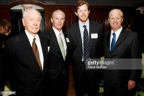Bill Troutier Sr Bill Troutier Jr John Coghlan Jr and John Coghlan Sr attend 7th Annual JESUIT VOLUNTEER CORPS New York City Benefit at Regis High...