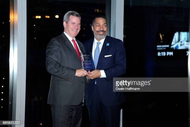 Bill Tyree and Valentino Carlotti attend The Boys' Club of New York Annual Awards Dinner at Mandarin Oriental on May 17 2017 in New York City