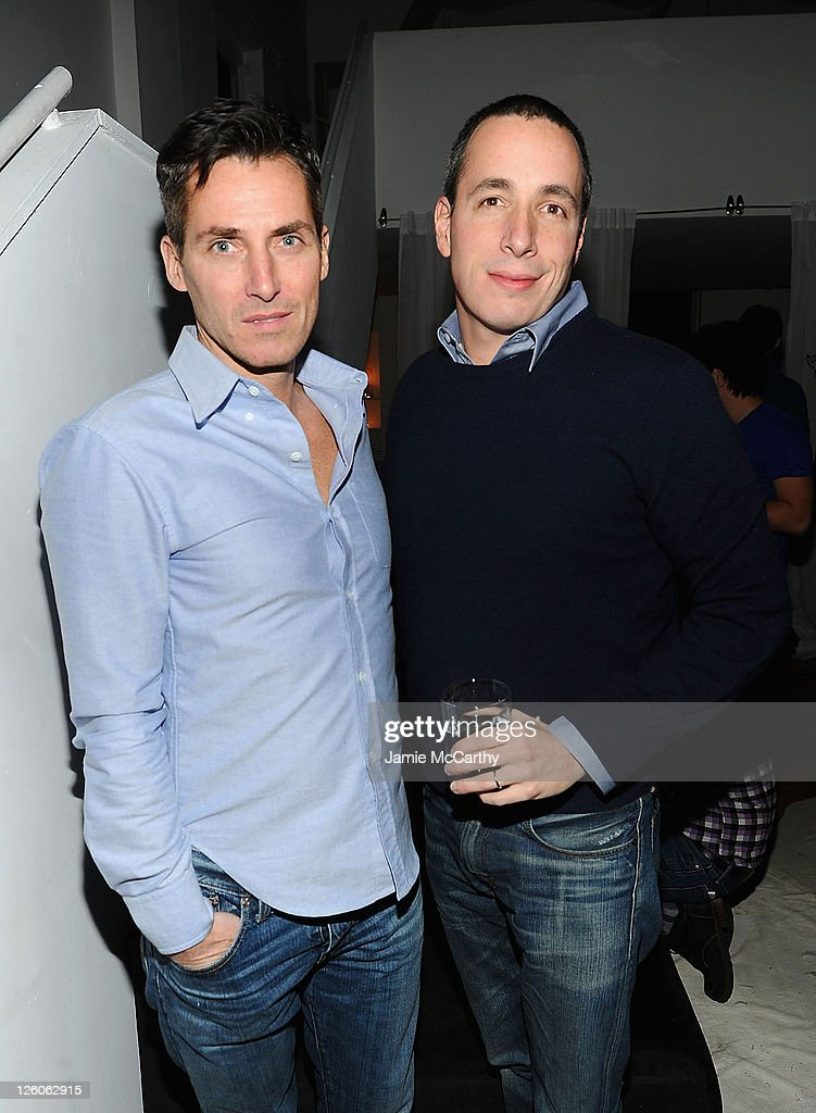 Bill Wackermann Executive VP Publishing Director at Condé Nast and Dan Peres Editor Chief of Details attend the Details celebration of THE BODY on...