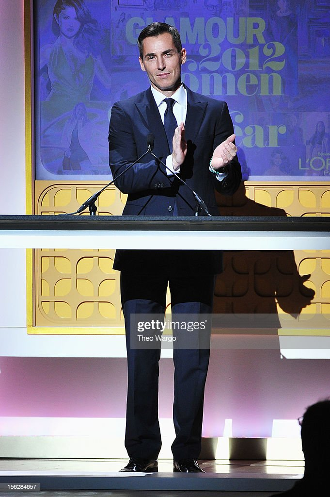Bill Wackermann speaks onstage at the 22nd annual Glamour Women of the Year Awards at Carnegie Hall on November 12 2012 in New York City