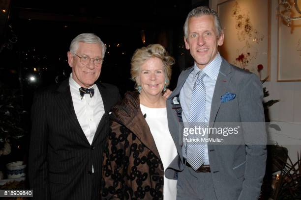 Bill Walter Bunny Williams and Howard Christian attend Book Party for BOBBY MCALPINE'S 'THE HOME WITHIN US' from RIZZOLI at Treillage on May 18th...