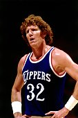 Bill Walton of the Los Angeles Clippers during an NBA game NOTE TO USER User expressly acknowledges and agrees that by downloading and or using this...