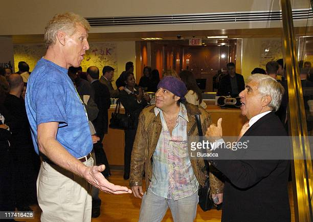 Bill Walton Steven Van Zandt and Mel Karmazin CEO of Sirius Satellite Radio