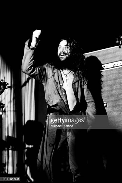 Bill Ward of Black Sabbath performs on stage in Manchester UK 1972