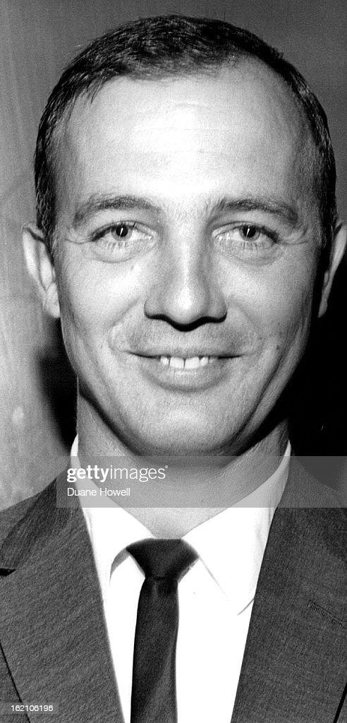 AUG 25 1963, 9-20-1965; <b>Bill Weeks</b> Football Coach University of - bill-weeks-football-coach-university-of-new-mexico-picture-id162106196