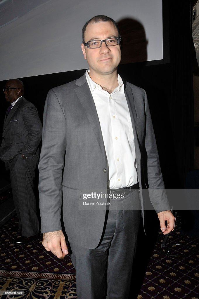 Bill Werde attends the 2012 Billboard Touring Conference & Awards Keynote Address at Roosevelt Hotel on November 8, 2012 in New York City.