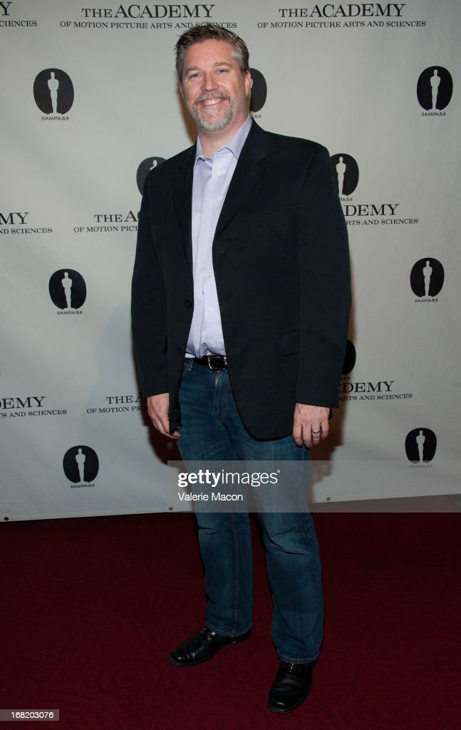 Bill Westenhofer attends The Academy Of Motion Picture Arts And Sciences' Delves Into The Visual Effects Recipe For 'Life Of Pi' at AMPAS Samuel Goldwyn Theater on May 6, 2013 in Beverly Hills, California.