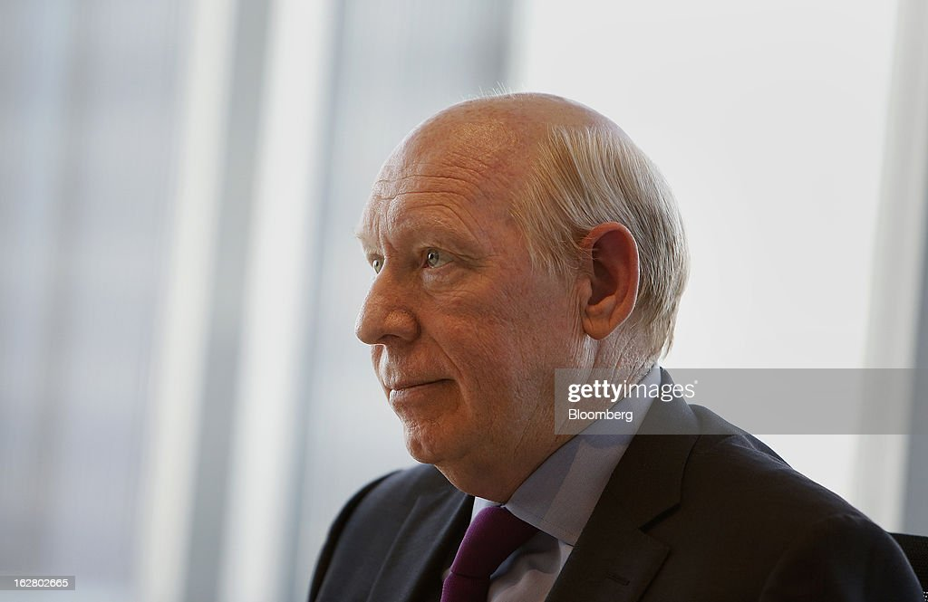 Bill White, chairman of Lazard Ltd., listens to a question during an interview in Houston, Texas, U.S., on Wednesday, Feb. 27, 2013. White discussed the outlook for U.S. energy independence. Photographer: Aaron M. Sprecher/Bloomberg via Getty Images