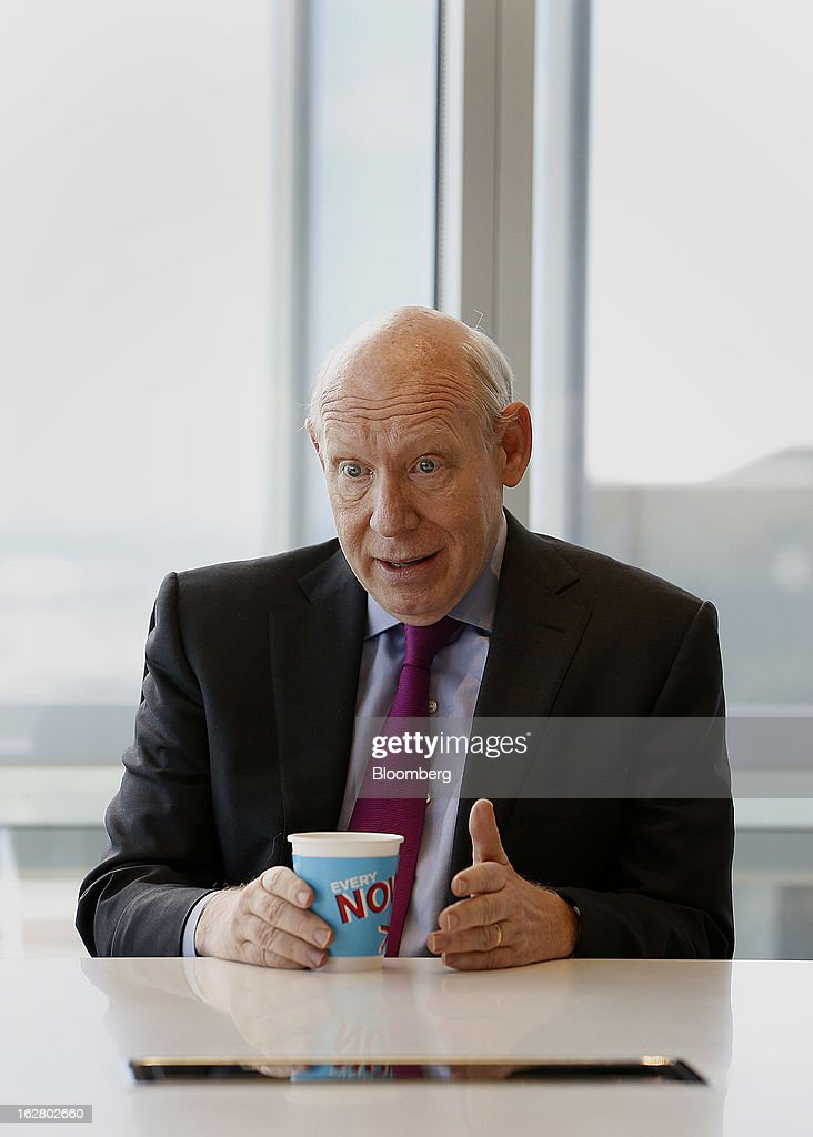 Bill White, chairman of Lazard Ltd., speaks during an interview in Houston, Texas, U.S., on Wednesday, Feb. 27, 2013. White discussed the outlook for U.S. energy independence. Photographer: Aaron M. Sprecher/Bloomberg via Getty Images