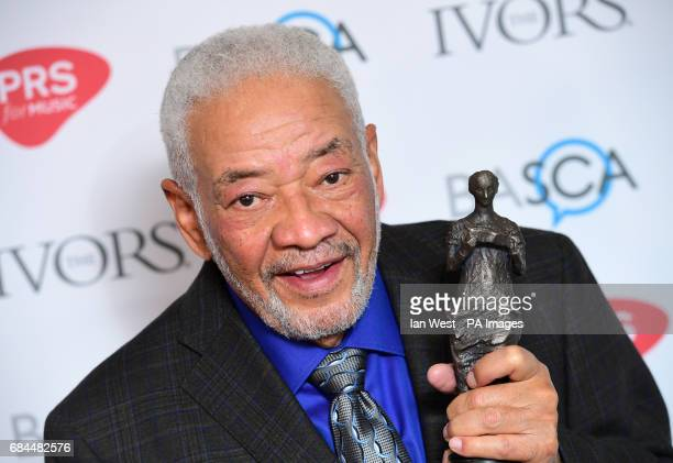 Bill Withers with the PRS for Music Special International Award during the 62nd Annual Ivor Novello Music Awards at Grosvenor House in London PRESS...