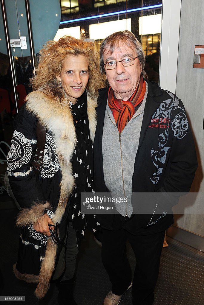 <a gi-track='captionPersonalityLinkClicked' href=/galleries/search?phrase=Bill+Wyman&family=editorial&specificpeople=157859 ng-click='$event.stopPropagation()'>Bill Wyman</a> and his wife Suzanne Accosta attend the opening party for the Rolling Stones pop up shop on Caranaby Street on November 27, 2012 in London, England.