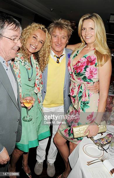 Bill Wyman Ann DexterJones Rod Stewart and Penny Lancaster attend as Richard Caring and Sir Philip Green host Johnny Gold's 80th Birthday at 34...