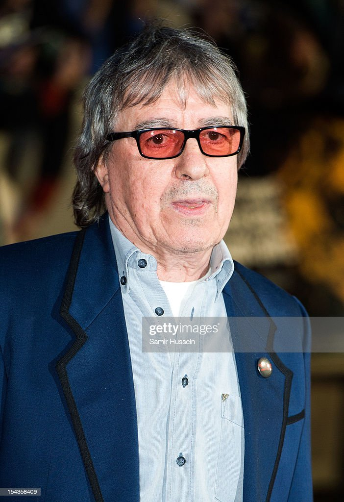 Bill Wyman attends the Premiere of 'Crossfire Hurricane' during the 56th BFI London Film Festival at Odeon Leicester Square on October 18, 2012 in London, England.