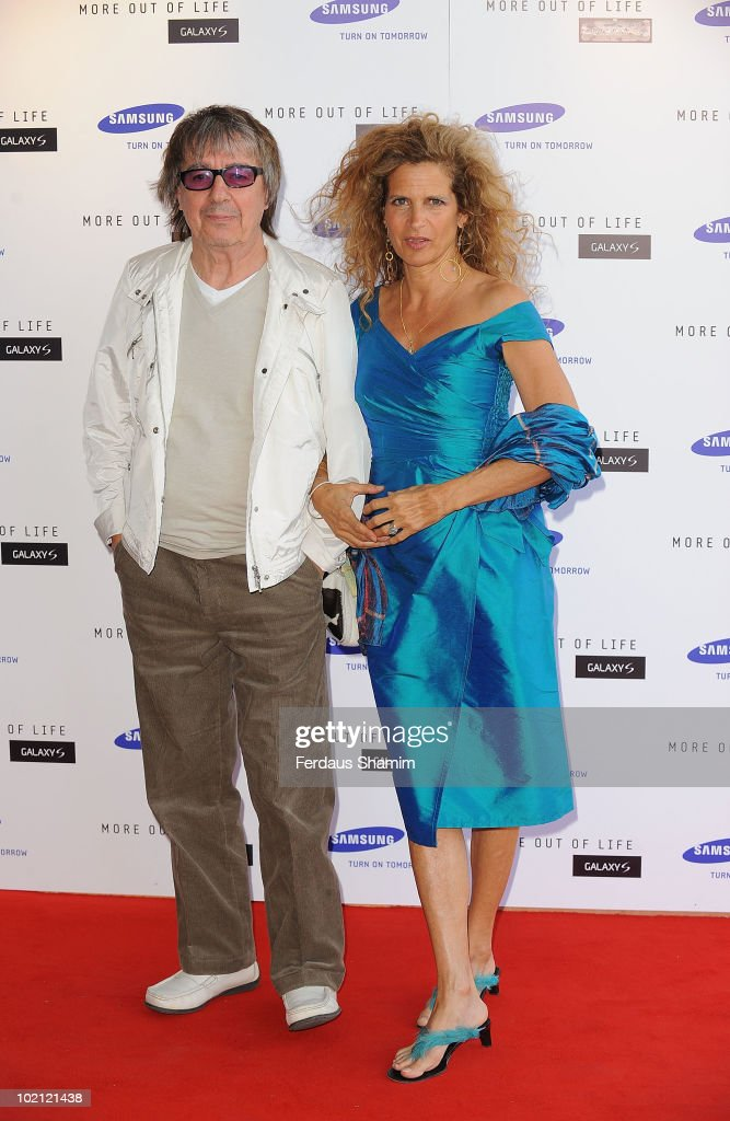 Bill Wyman attends the Samsung Galaxy S launch on June 15, 2010 in London, England.