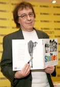 Bill Wyman during Bill Wyman and Richard Havers sign copies of 'The Stones A History In Cartoons' at Selfridges April 27 2006 at Selfridges in London...
