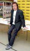 Bill Wyman during Bill Wyman and Richard Havers Signs Copies of The Stones A History In Cartoons at Selfridges – April 27 2006 at Selfridges in...