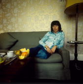 Bill Wyman from The Rolling Stones posed in Amsterdam Netherlands in 1973