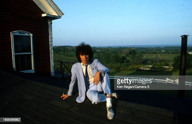 Bill Wyman of the Rolling Stones is photographed at Longview Farm in September 1981 in Worcester Massachusetts CREDIT MUST READ Ken Regan/Camera 5...