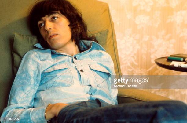 Bill Wyman of the Rolling Stones portrait London 1974