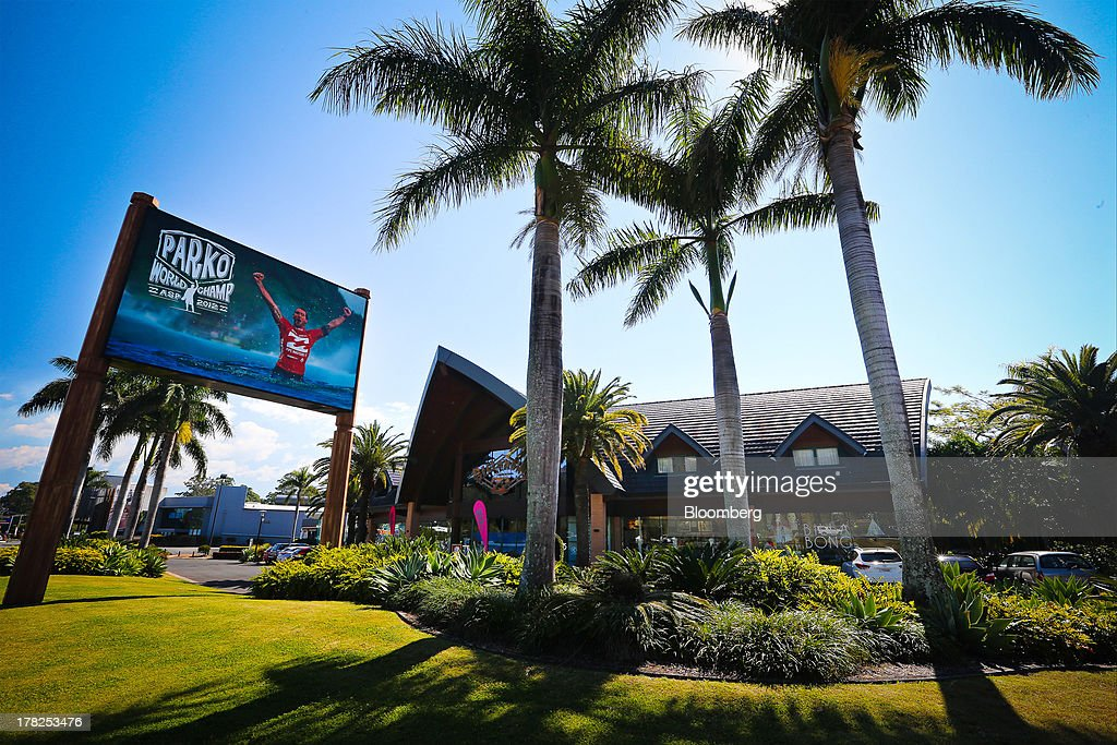 A Billabong International Ltd. retail store stands at the company's headquarters in Burleigh Heads, Australia, on Wednesday, Aug. 28, 2013. Billabong, the surf brand founded in 1973, helped sell Australian surfing culture worldwide and rose to a market value of A$3.84 billion ($3.45 billion) at its peak in 2007 said its 40-year-old surf brand was worthless after the companys losses tripled amid store closures, firings and a breach of debt terms. Photographer: Patrick Hamilton/Bloomberg via Getty Images