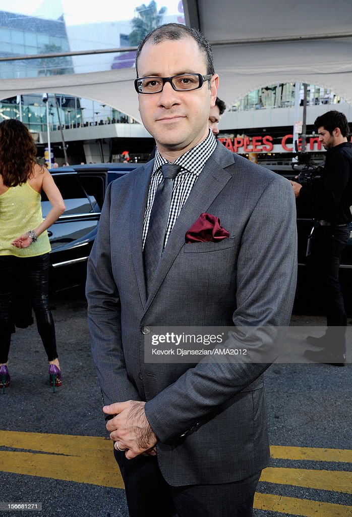 Billboard Editorial Director Bill Werde attends the 40th American Music Awards held at Nokia Theatre L.A. Live on November 18, 2012 in Los Angeles, California.
