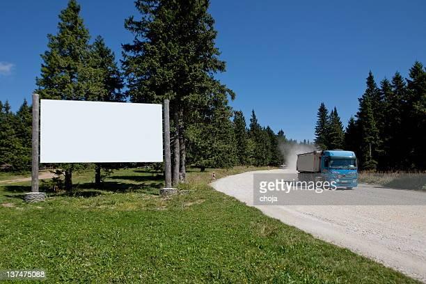 Plakat in der mountains.Rogla, Slowenien
