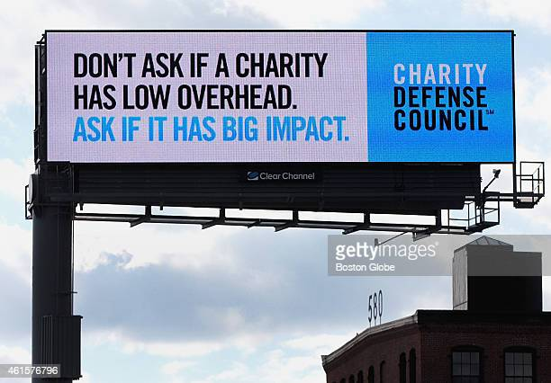 Billboard located off of I93 South near Albany Street in Boston on January 7 2015