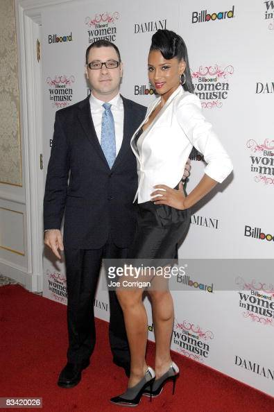 Billboard Magazine editorial director Bill Werde singer/songwriter/model Ciara attend the 3rd Annual Billboard Women in Music Breakfast at the St...