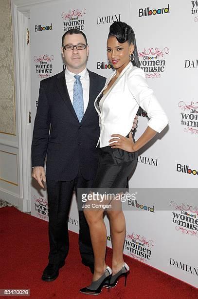 Billboard Magazine editorial director Bill Werde singer/songwriter/model Ciara attend the 3rd Annual Billboard Women in Music Breakfast at the St...