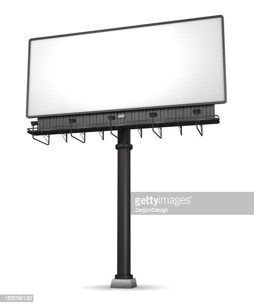 Billboard On White
