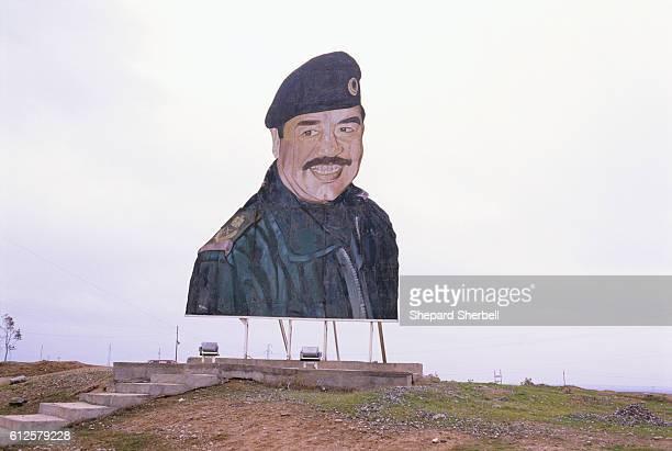 Billboard Painting of Saddam Hussein