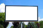 Big and clean billboard ready to put your advertisement