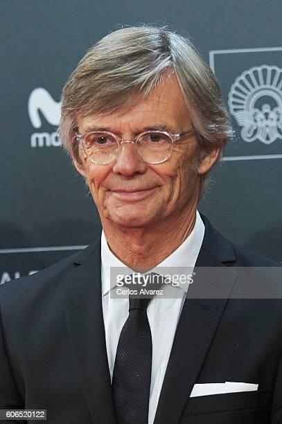 Bille August attends 'La Fille De Brest' premiere during 64th San Sebastian International Film Festival at Kursaal Palace on September 16 2016 in San...