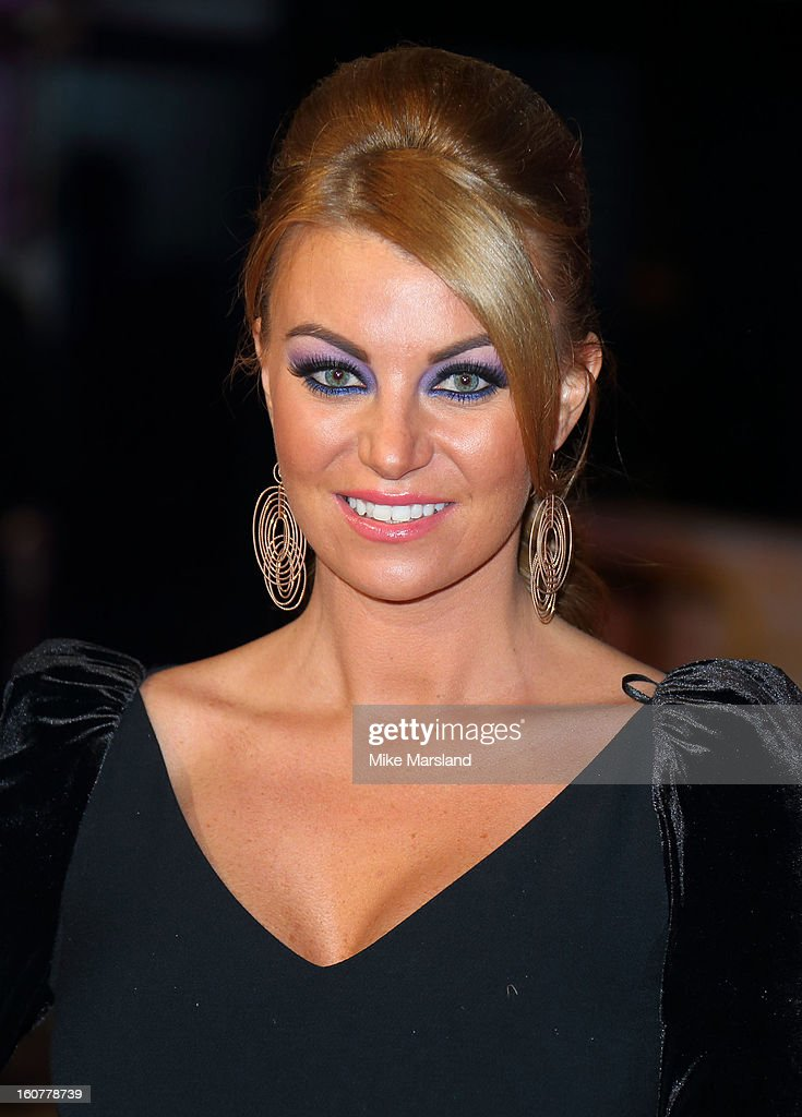 Billi Mucklow attends the UK Premiere of 'Run For Your Wife' at Odeon Leicester Square on February 5, 2013 in London, England.