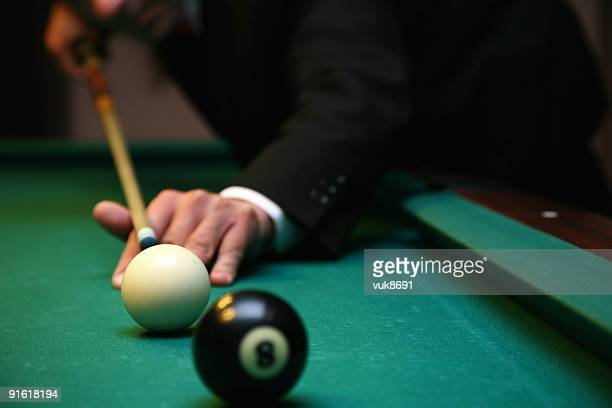 Billiard game detail
