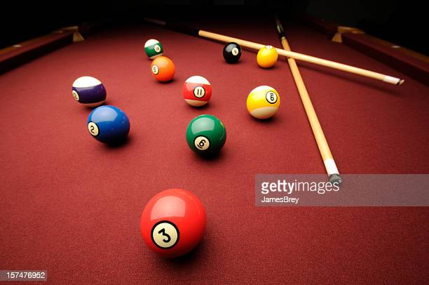 Billiards Balls and Cues