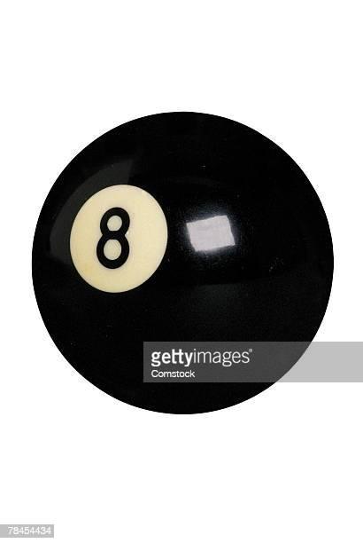 Billiards eight ball