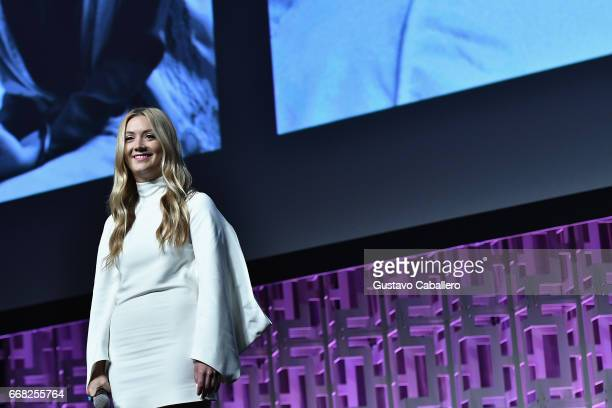 Billie Catherine Lourd attends the Star Wars Celebration Day 1 on April 13 2017 in Orlando Florida