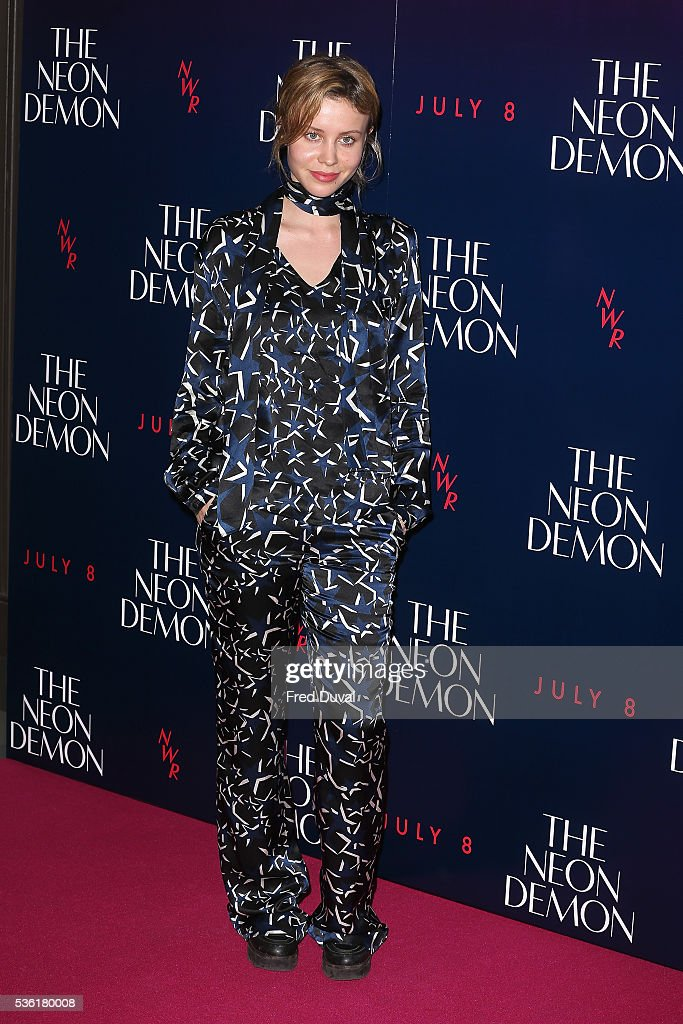 Billie DJ Porter arrives for the UK Premiere of The Neon Demon on May 31, 2016 in London, United Kingdom.