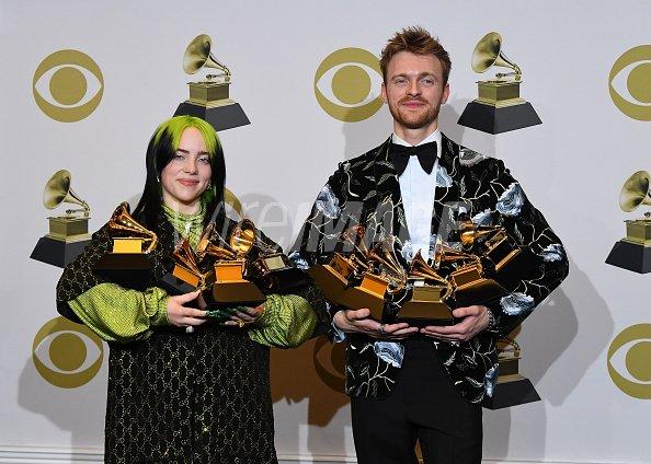 Billie Eilish winner of Record...
