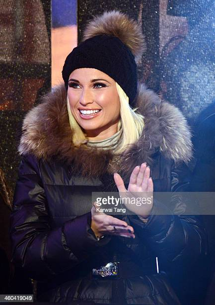 Billie Faiers at the Celebrity Big Brother House at Elstree Studios on January 3 2014 in Borehamwood England